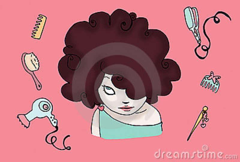 brunette-funny-hair-8694529